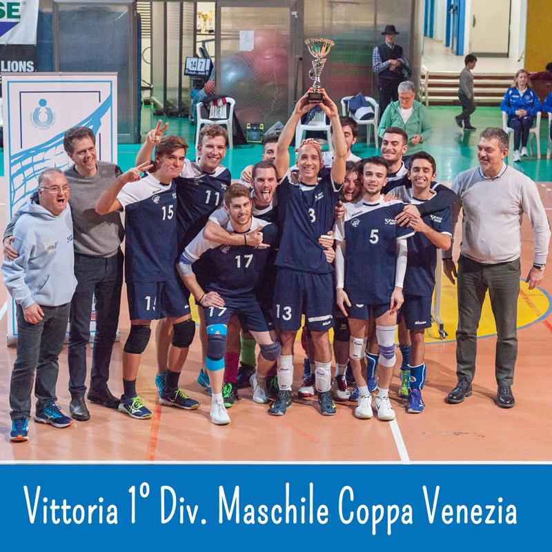 coppa venezia prima divisione maschile
